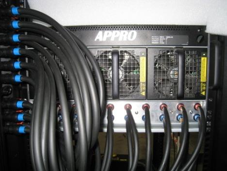 Суперкомпьютер с жидкостным охлаждением от компании APPRO