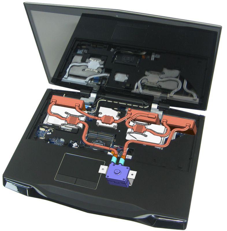 Компания Asetek и ноутбуки с водяным охлаждением