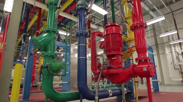 В своих ЦОД Google использует сточные воды для охлаждения