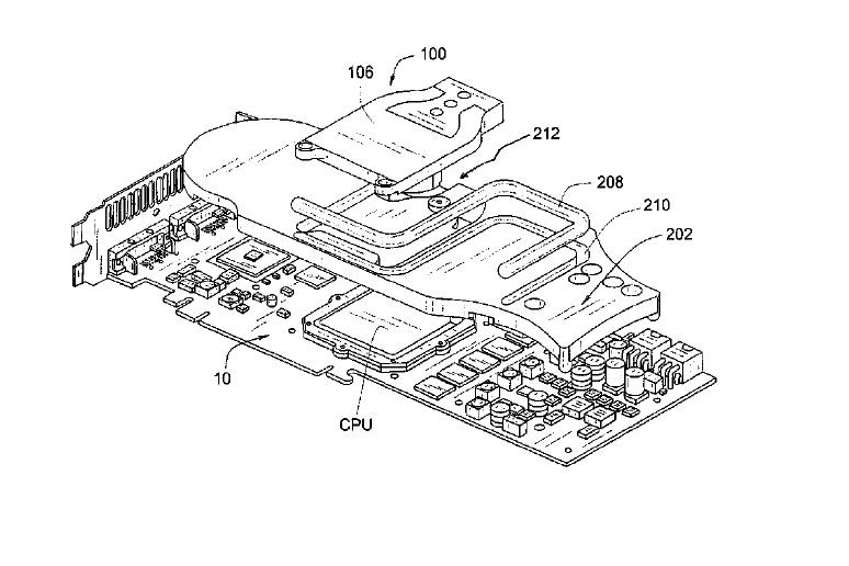 Asetek получила патент на жидкостное охлаждение GPU