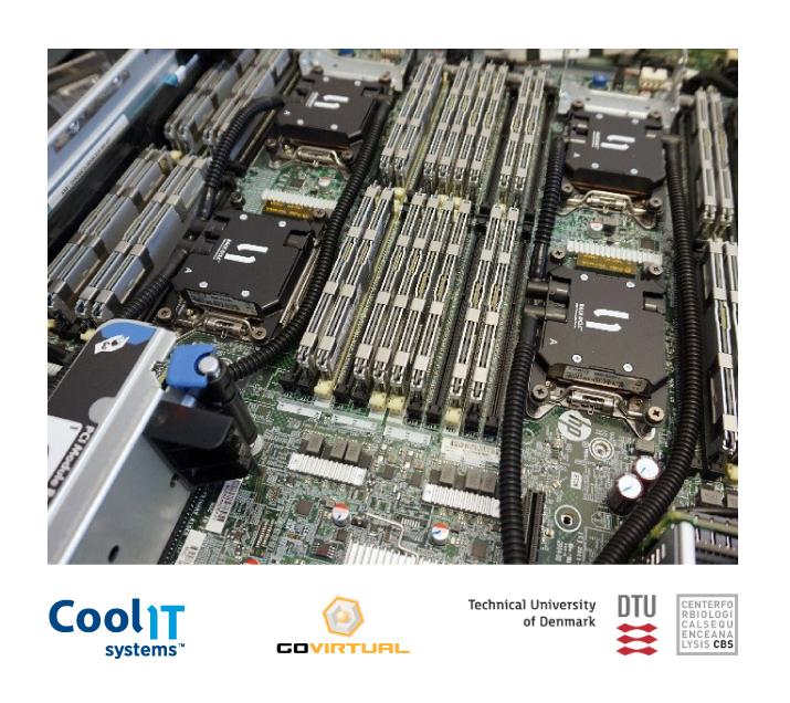 Система CoolIT Rack DCLC теперь и в Техническом университете Дании