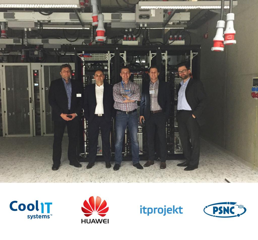 CoolIT Systems успешно установила жидкостное охлаждение в Poznan Supercomputing & Networking Center