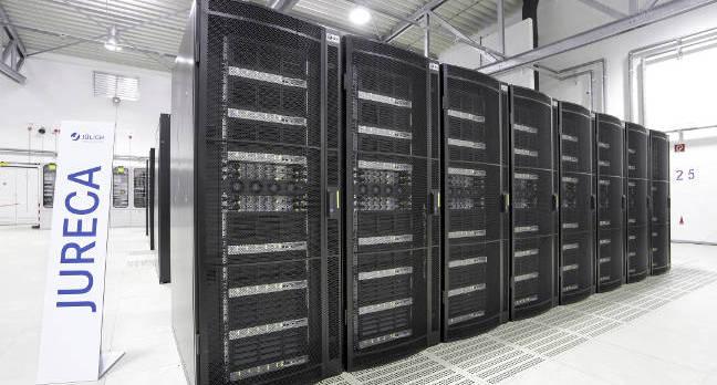 «Т-Платформы» завершила инсталляцию суперкомпьютера JURECA в немецком вычислительном центре Юлих