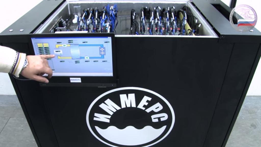 Завершен первый этап запуска погружного кластера «Черенков» в НИЯУ МИФИ