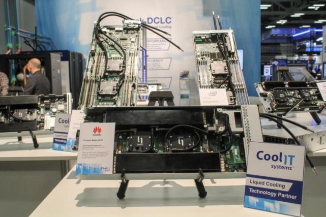 Видеоотчет с презентации систем жидкостного охлаждения CoolIT Systems на SC15