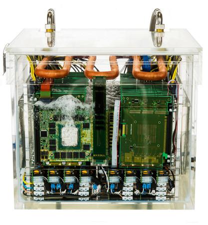 Состоялось первое внедрение системы с иммерсионным охлаждением EXTOLL GreenICE