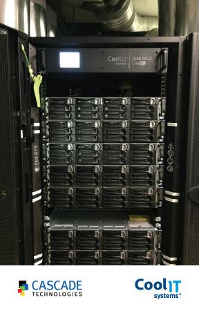 Cascade Technologies в 2.5 раза увеличила вычислительную плотность своих стоек благодаря СЖО CoolIT Systems