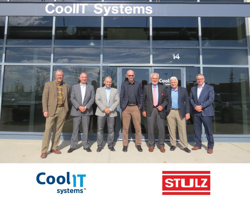 """CoolIT Systems и STULZ создадут уникальную систему охлаждения """"Chip-to-Atmosphere"""""""