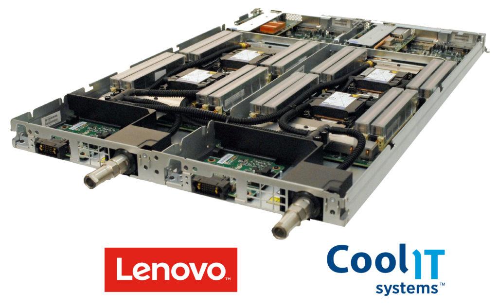 Lenovo выбрала CoolIT Systems в качестве OEM партнёра для поставки СЖО для платформы NeXtScale M5