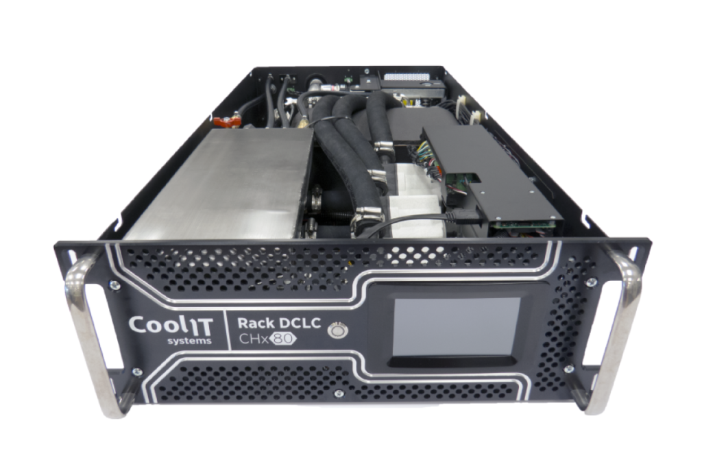 CoolIT Systems представила жидкостный теплообменник Rack DCLC™ CHx80