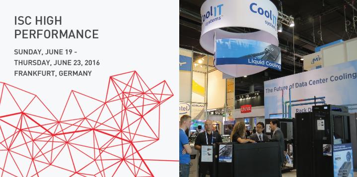 Что покажет CoolIT Systems на выставке ISC 2016