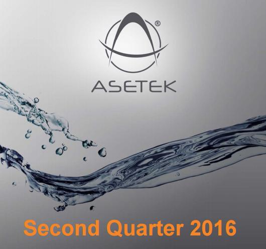 Финансовые результаты Asetek за второй квартал и первое полугодие 2016 года