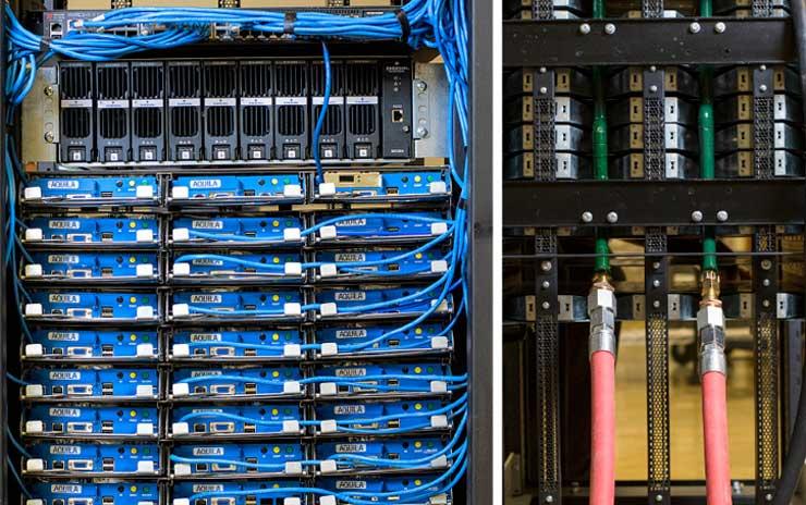 Aquarius Server: Жидкостное охлаждение тёплой водой для OCP