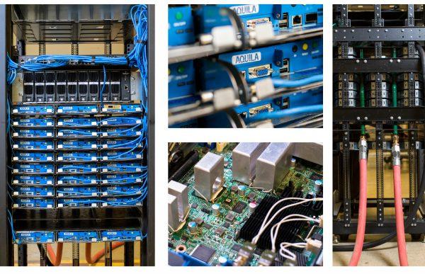 Новый модульный сервер с системой жидкостного охлаждения от Aquila и TAS Energy