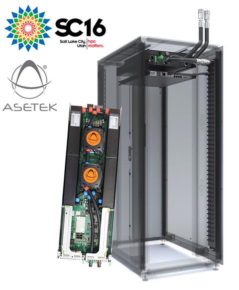 Участие Asetek на SC16