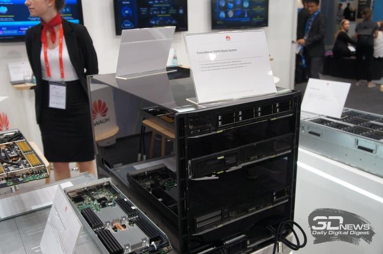 Новые серверы высокой плотности Huawei с СЖО на ISC 2017