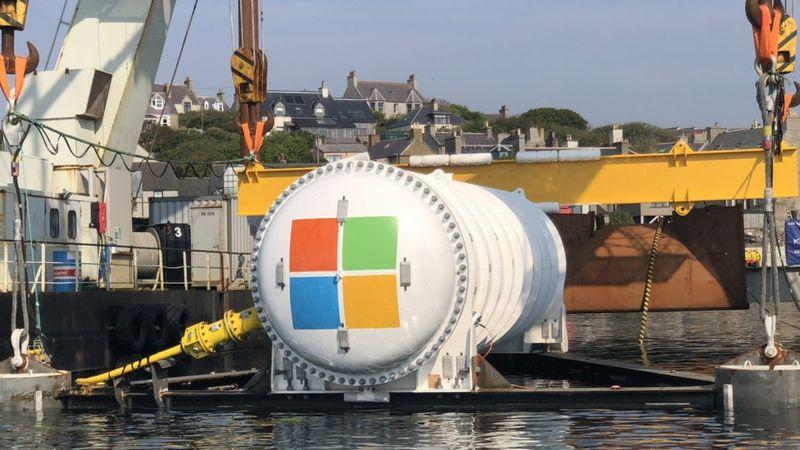 Microsoft затопила ЦОД Natick в Северном море на 5 лет