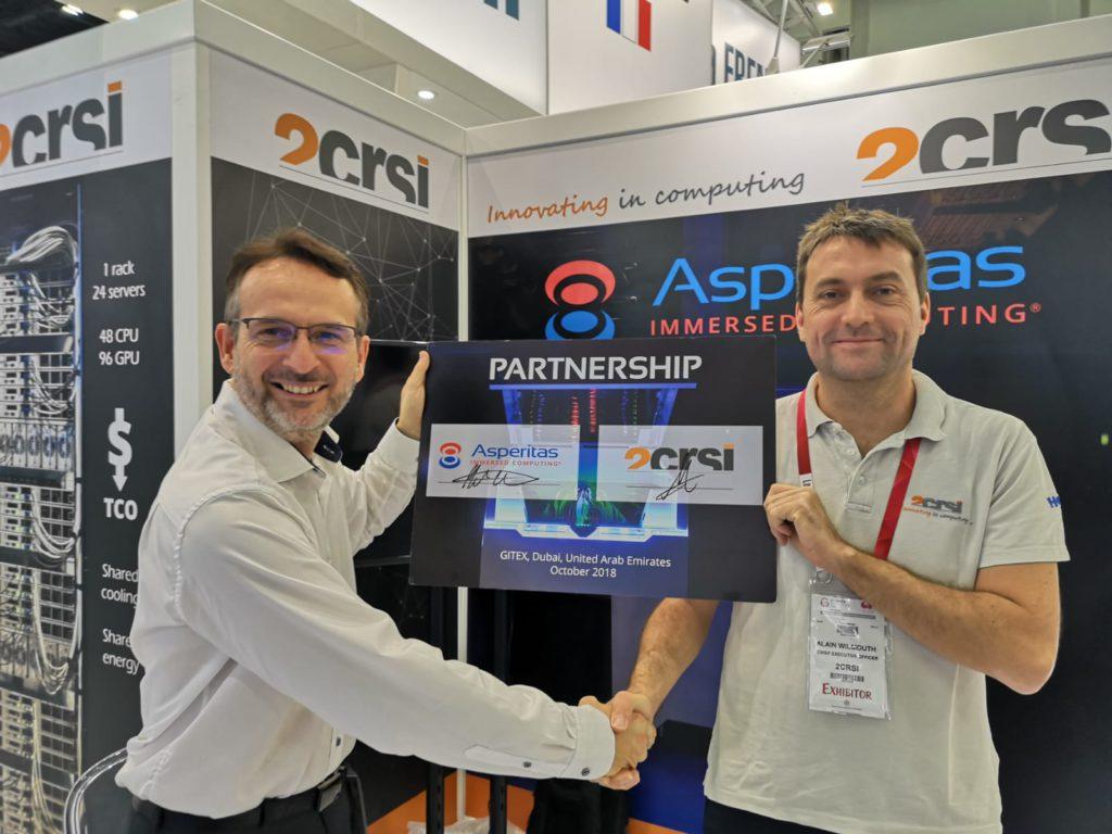 Asperitas и 2CRSI подписали соглашение о сотрудничестве в сфере Immersed Computing®