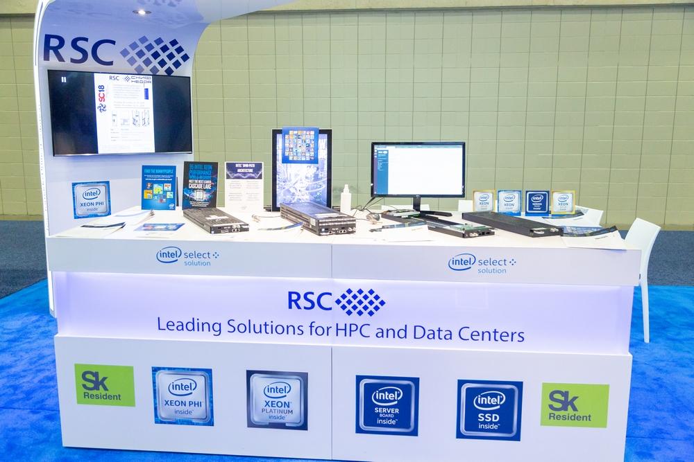 РСК представила на SC'18 гиперконвергентное решение на «горячей воде» на базе новых Intel Optane