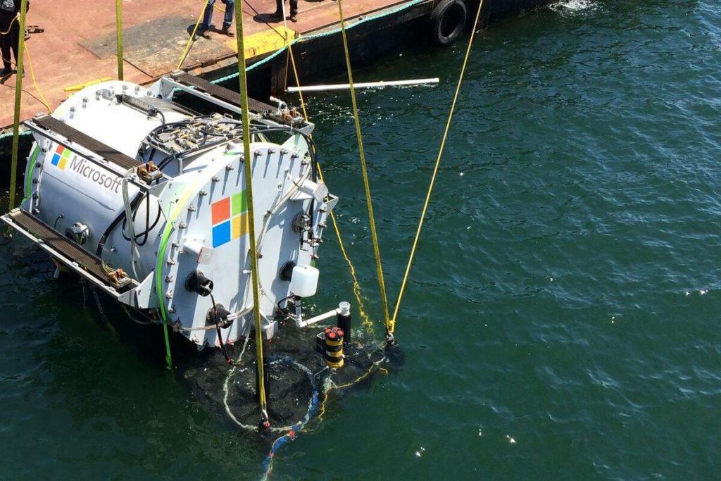 Microsoft: Будущее за подводными Центрами Обработки Данных