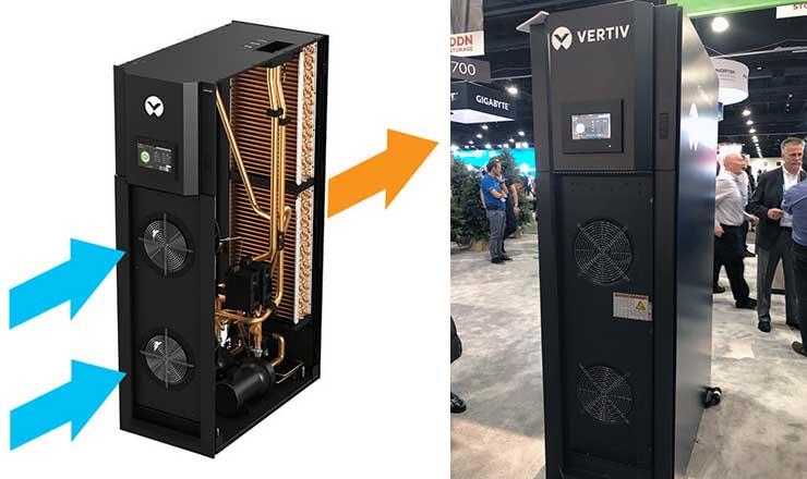 Vertiv предлагает систему охлаждения серверов Liebert XDU