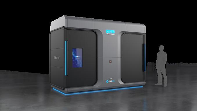 TMGcore OTTO - автономный роботизированный микро-ЦОД с иммерсионным охлаждением