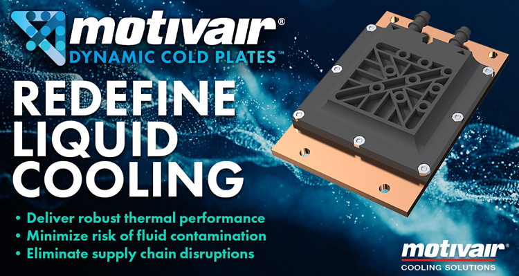 Motivair Dynamic Cold Plates
