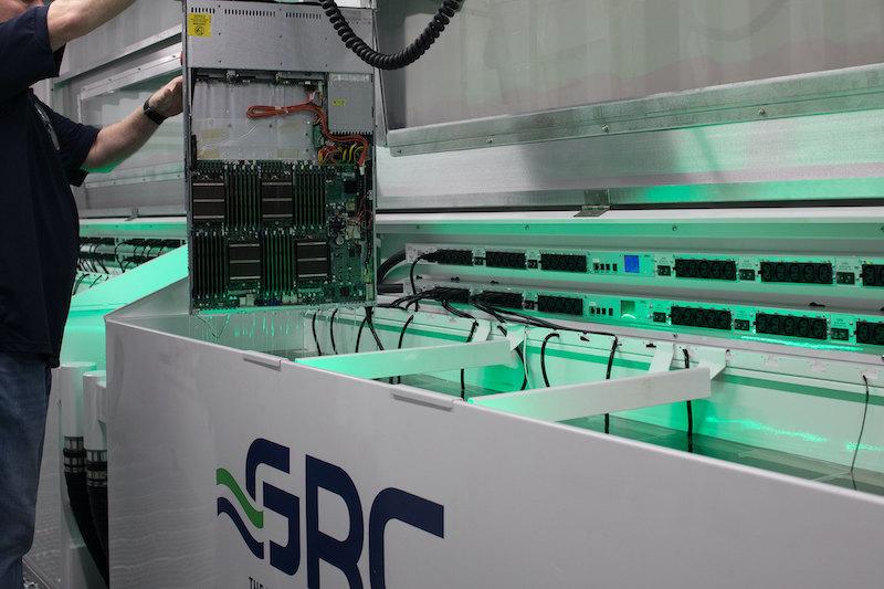 Total Data Center Solutions поможет продвигать системы иммерсионного охлаждения серверов GRC в Европе